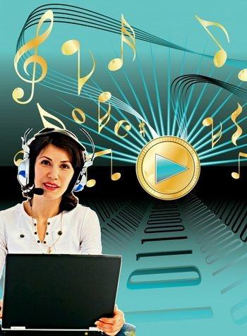 گذاشتن موسیقی در وبلاگ