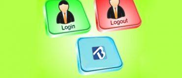 ورود و خروج از حساب خود در بلاگ اسکای