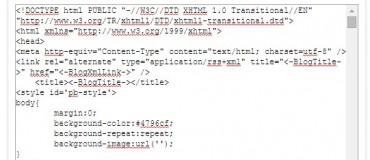 ویرایش کد قالب پرشین بلاگ
